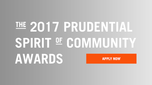2017 Prudential Spirit of Community Awards