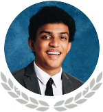 Photo of State Honoree Aditya Sidapara