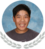 Photo of State Honoree Ethan Auyeung