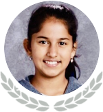 Photo of State Honoree Sanika Datar